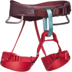 Black Diamond Momentum Harness Kids wild rose